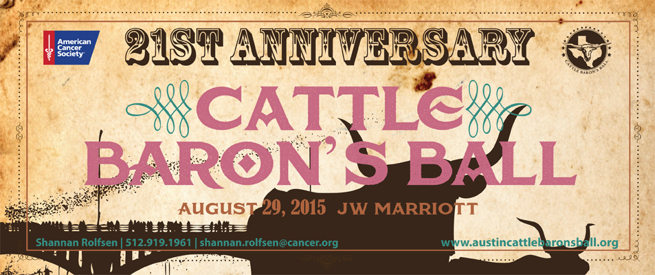 2015 Austin Cattle Baron's Ball
