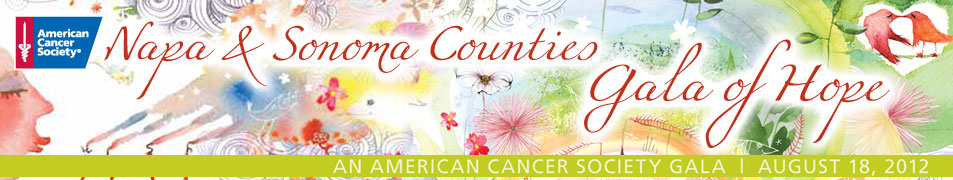 2012 Napa and Sonoma Counties Gala of Hope Celebrate Life
