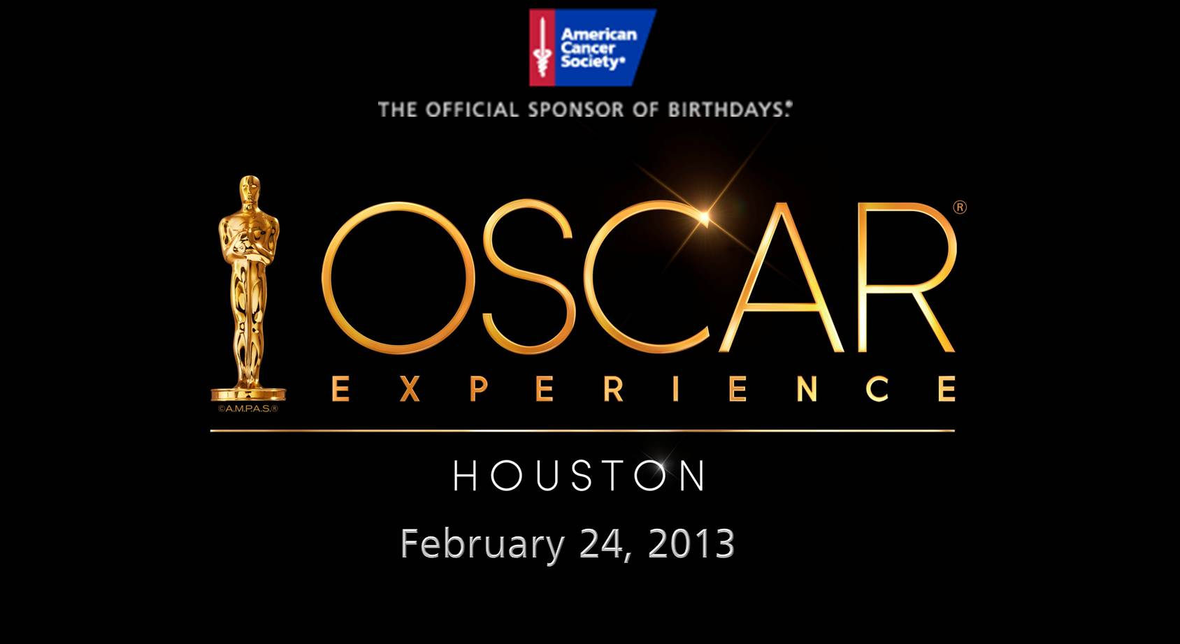 2013 Oscar Night Houston Banner